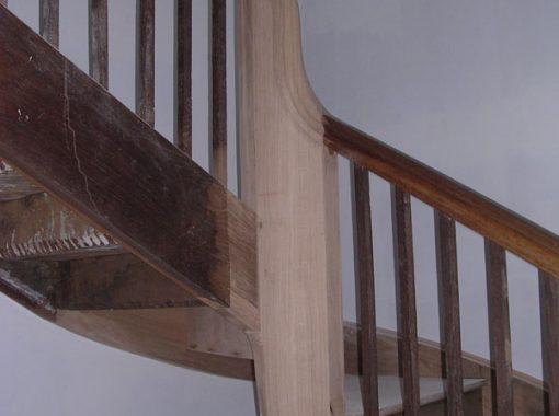 Escalier consolidé