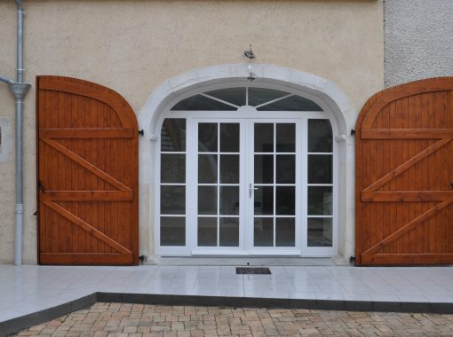 Volets et porte d'entrée