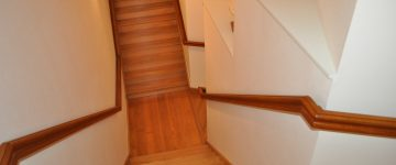 Escalier avec rembarde